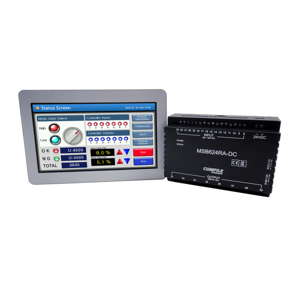 ComfileHMI Start KIT 2 (Human machine interface, HMI with PLC)