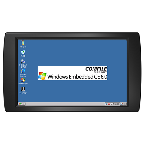 "CWA-102BR - 10.2"" Windows CE Industrial Panel PC (400MHz ARM9)"