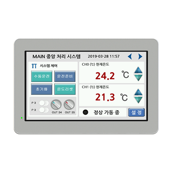 "CHC-070WR - 7"" Water-Resistant Human Machine Interface (HMI)"