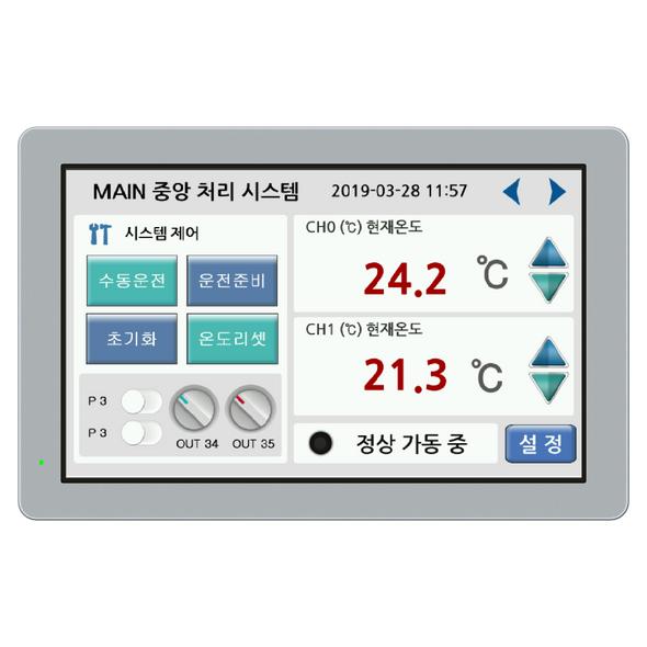 "CHC-102WR - 10.2""  Water-Resistant Human Machine Interface (HMI)"