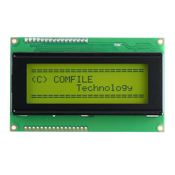 CLCD420-G  (Serial Character LCD Display)