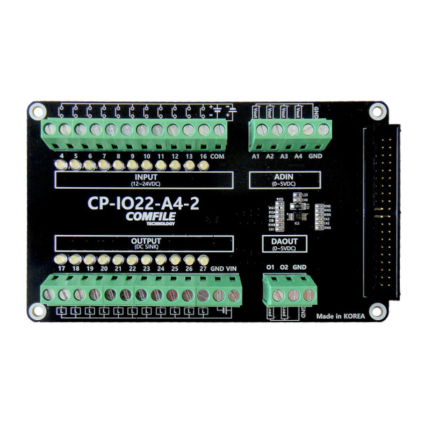 CP-IO22-A4-2 - Digital & Analog IO Board Accessory for the ComfilePi