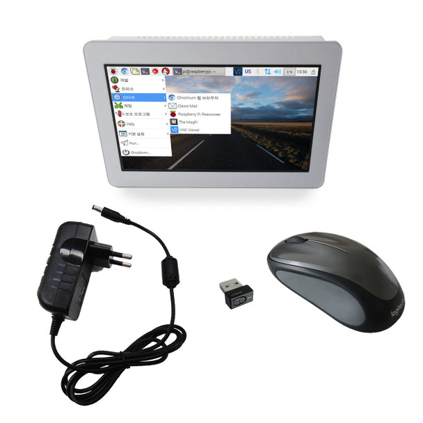 """ComfilePi Start Pack (7"""" Industrial Raspberry Pi Touch Panel PC & more)"""