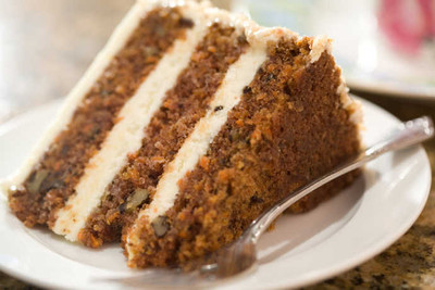 Carrot Cake: Eat It for the Spices and the Cream Cheese Frosting