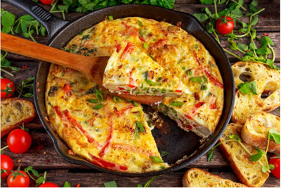 Frittatas Turn Leftovers Into Lunch