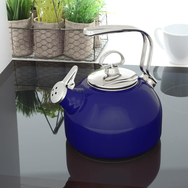 Chantal Enamel-on-Steel Classic Tea Kettle
