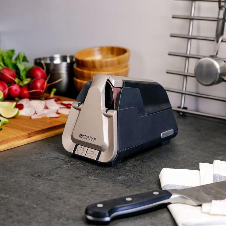 Work Sharp Culinary E5 Kitchen Knife Sharpener