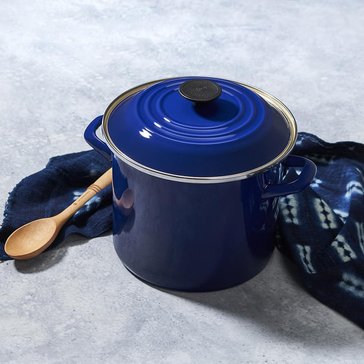 Le Creuset Stockpot in Indigo