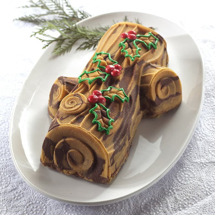 Nordic Ware Buche De Noel Yule Log Pan