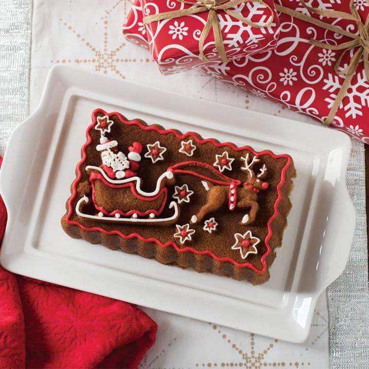 Nordic Ware Santa's Sleigh Loaf Pan