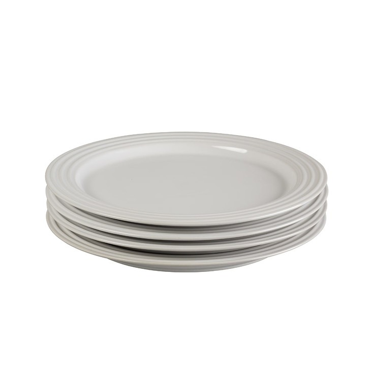 Le Creuset 10.5-Inch Dinner Plates in White