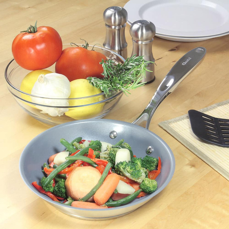 Chantal Induction 21 Steel Ceramic Coated Fry Pan