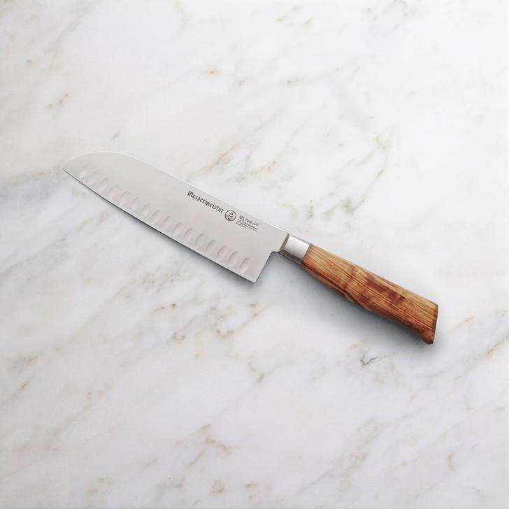 Messermeister Oliva Elite Santoku Knife