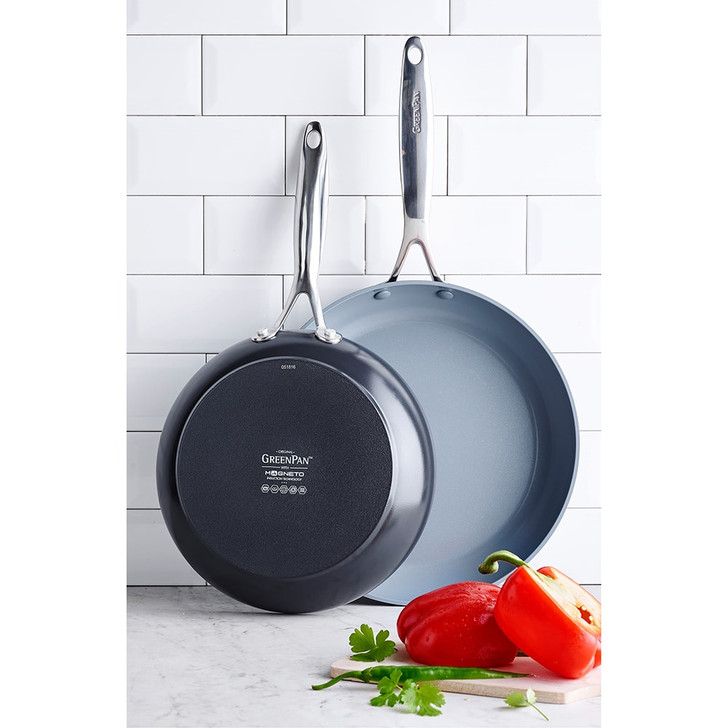 GreenPan Valencia Pro 10- and 12-inch Fry Pan Set