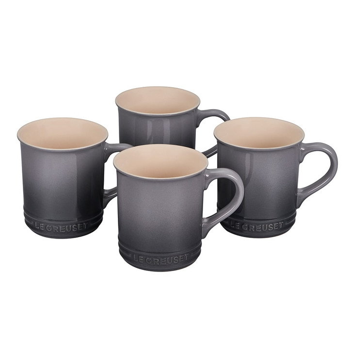 Le Creuset Mugs in Oyster