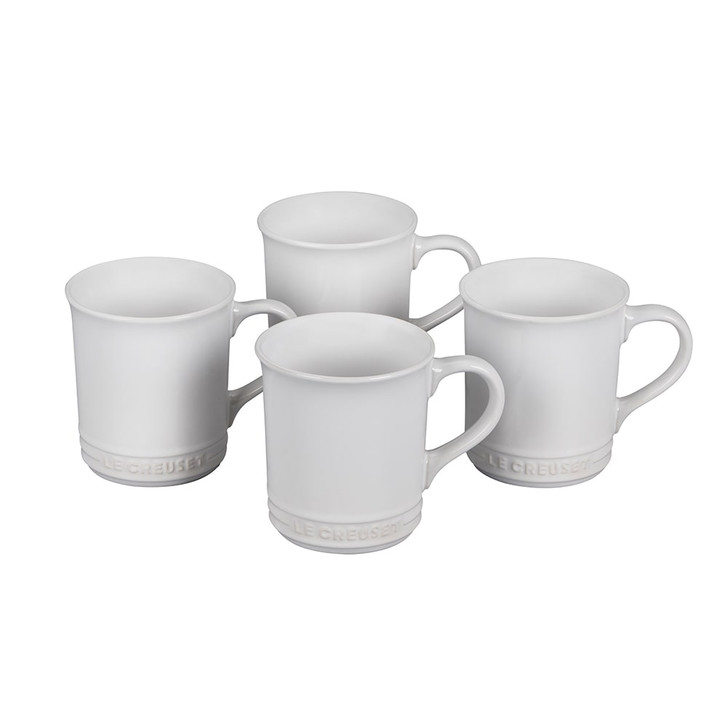 Le Creuset Mugs in White
