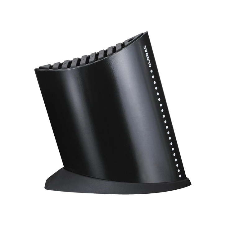Global Ship Shape Knife Block in Black
