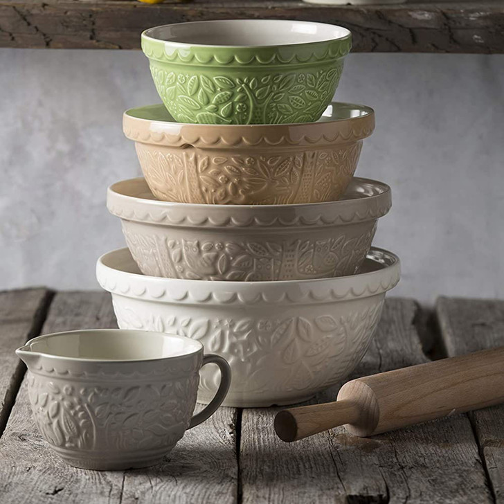 Mason Cash In the Forest Owl Mixing Bowl