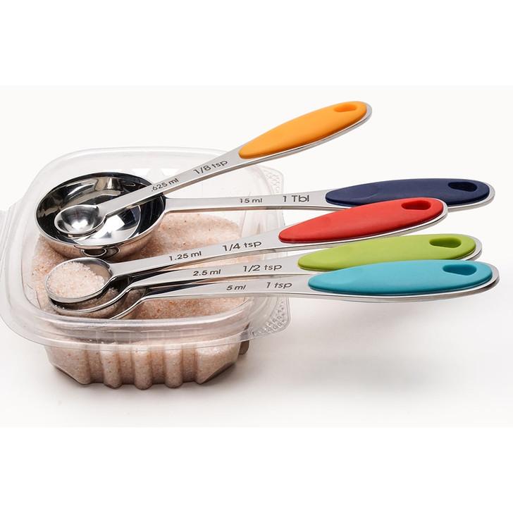RSVP Endurance Colorful Measuring Spoon Set