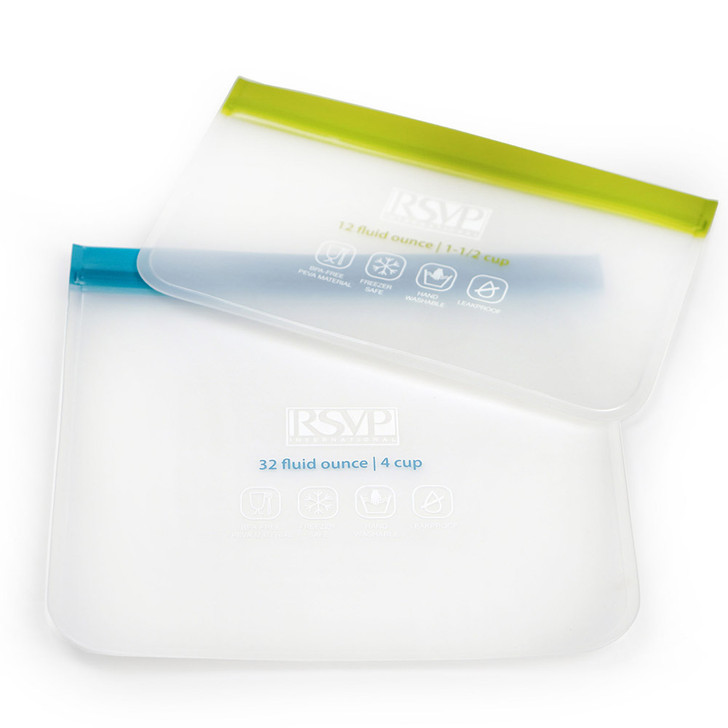 RSVP Eco Press-n-Seal Bag Set