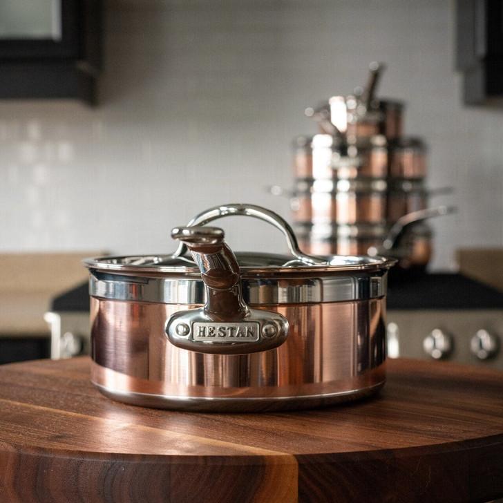 Hestan CopperBond Covered Saucepan