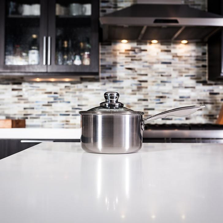 Swiss Diamond Premium Clad Stainless Saucepan