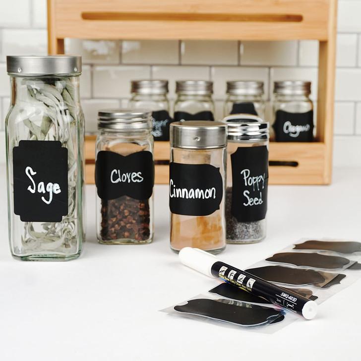 RSVP Reusable Spice Labels