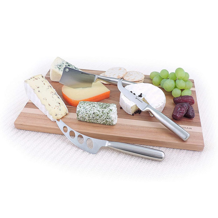 Swissmar 3-Piece Cheese Knife Set
