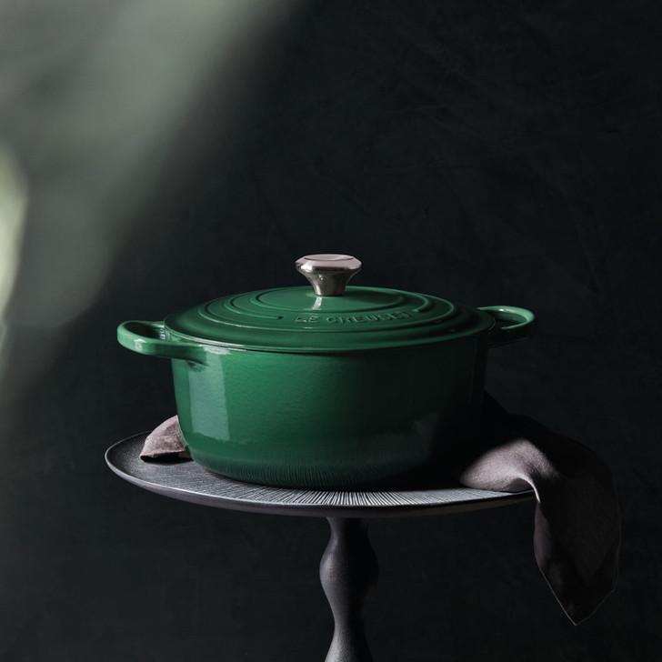 Le Creuset Cast Iron Round Dutch Oven in Artichaut