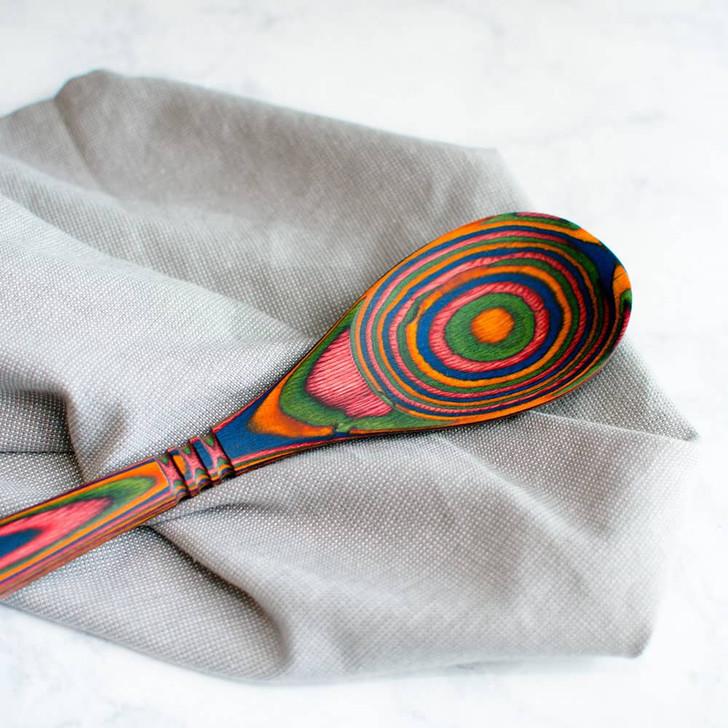 Island Bamboo Spoon in Rainbow
