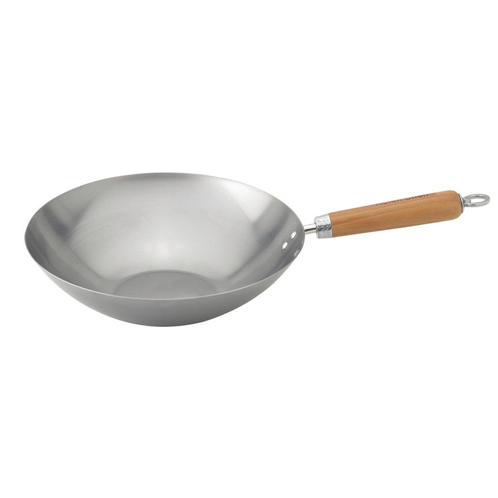 Helen's Asian Kitchen Carbon Steel Stir Fry Pan