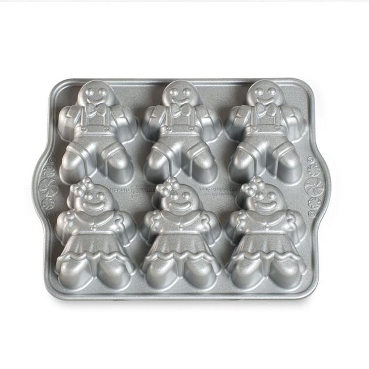 Nordic Ware Gingerbread Kids Cake Pan