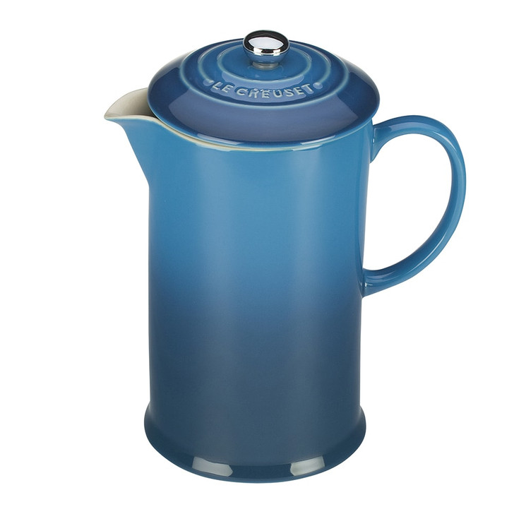 Le Creuset French Press in Marseille Blue