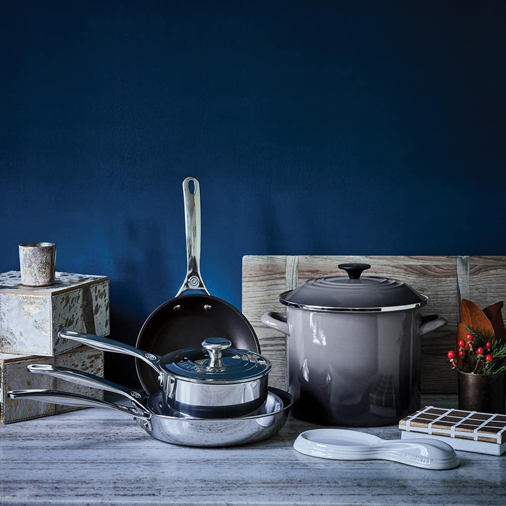 Le Creuset Nonstick Stainless Steel Fry Pan