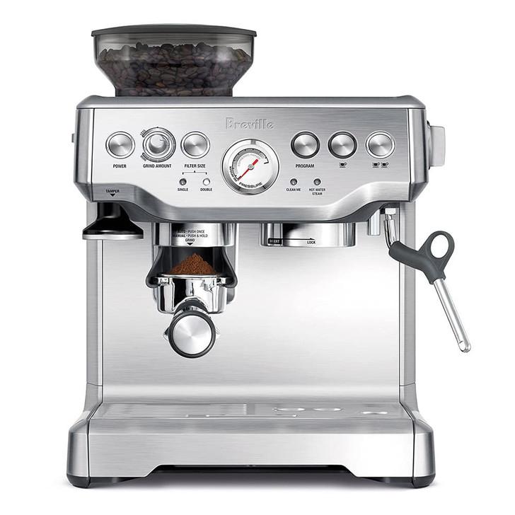 Breville Barista Express Espresso Machine in Silver