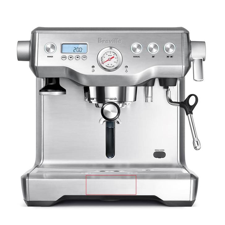 Breville Dual Boiler Espresso Machine in Silver