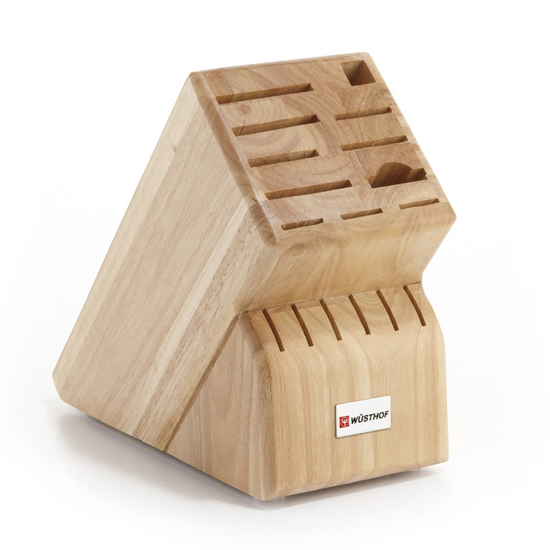 Wusthof 17-Slot Knife Block in Natural