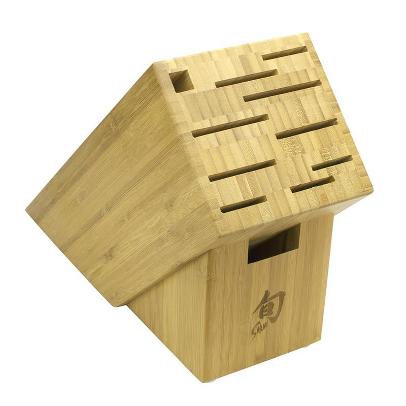 Shun 11-Slot Bamboo Block