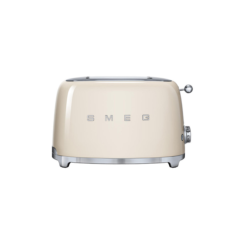 SMEG 2-Slice Toaster in Cream