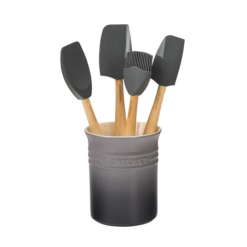 Le Creuset Craft Series Utensil Set in Oyster grey