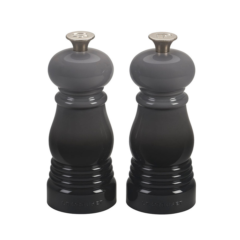 Le Creuset Petite Salt and Pepper Mill Set in Oyster Grey