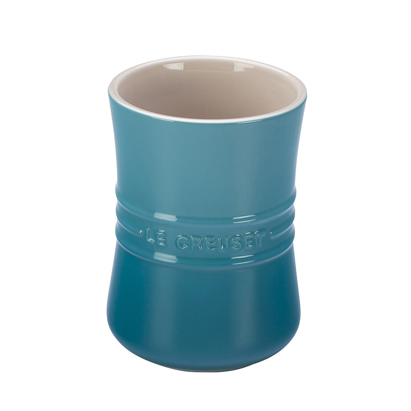 Le Creuset Small Utensil Crock in Caribbean Blue