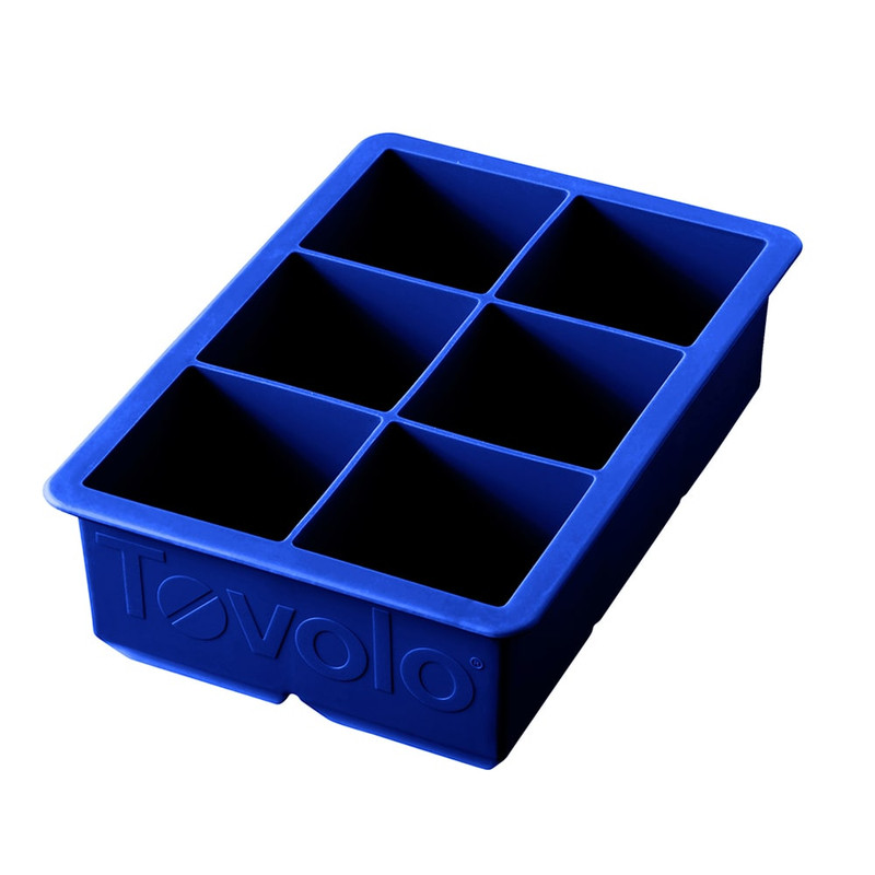 Tovolo King Cube Ice Tray in Stratus Blue
