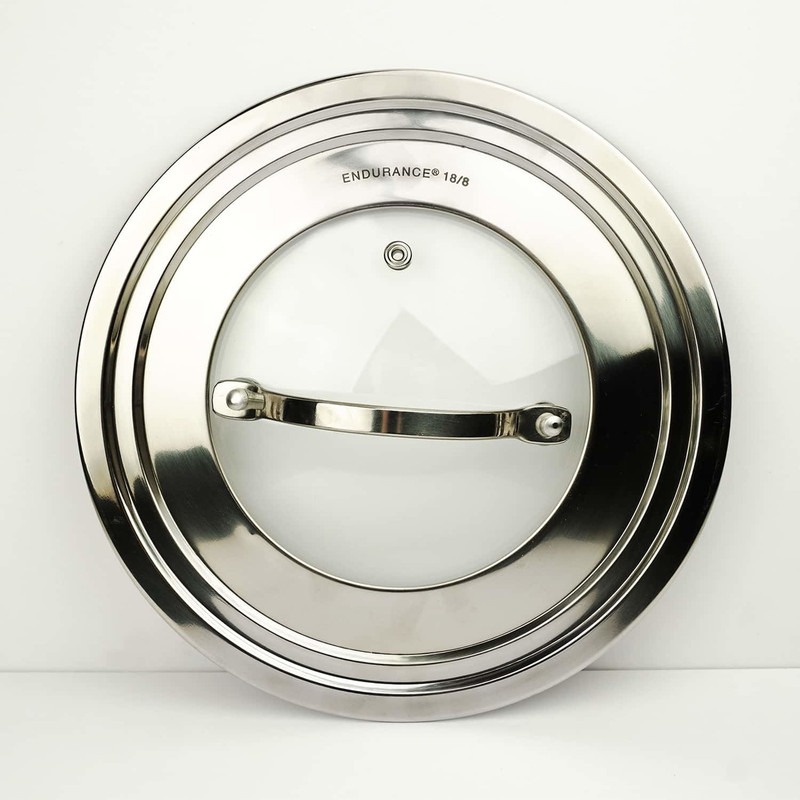 RSVP Endurance Universal Lid With Glass Insert