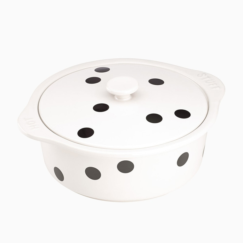 Kate Spade Deco Dot Covered Casserole