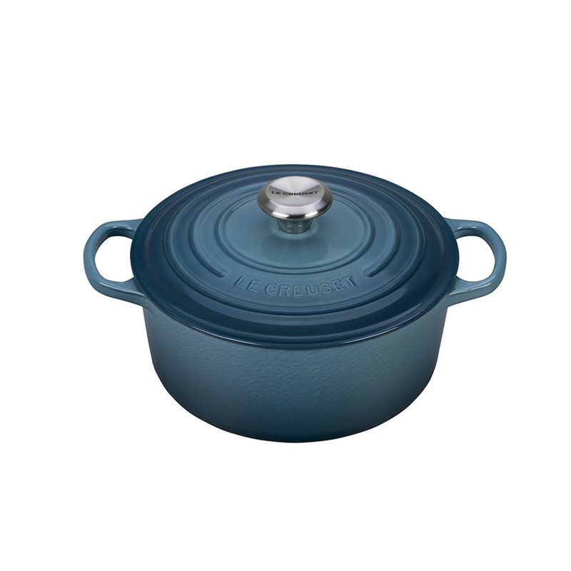 Le Creuset 4.5-Quart Round Dutch Oven in Marine