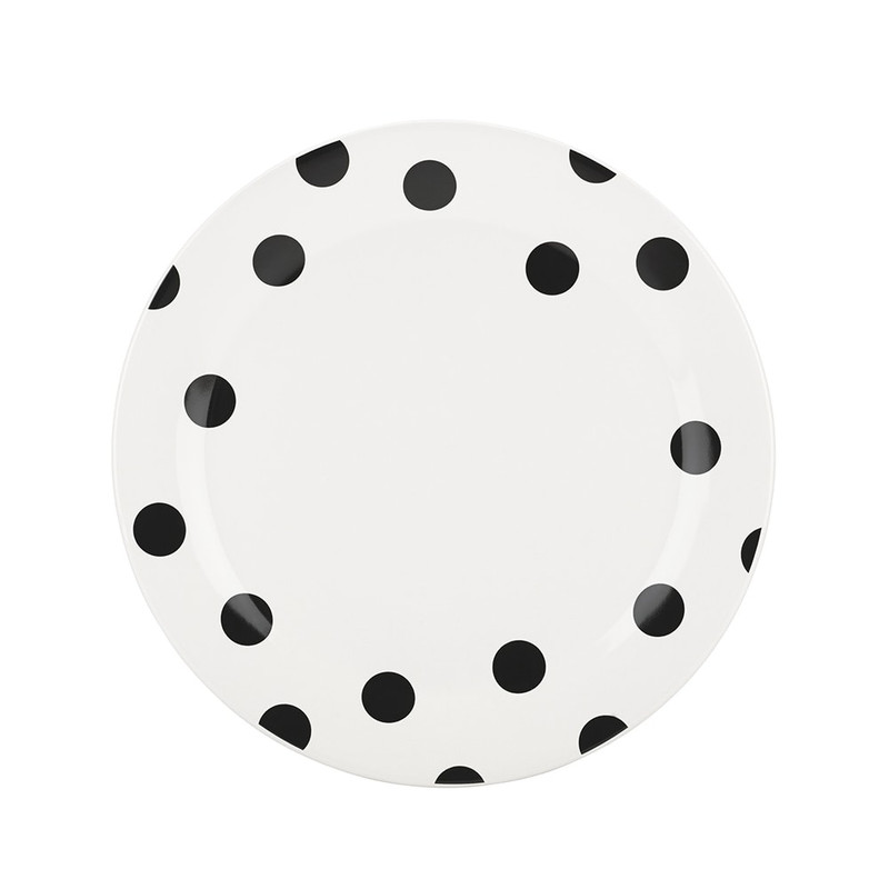 Kate Spade Deco Dot Dinner Plate