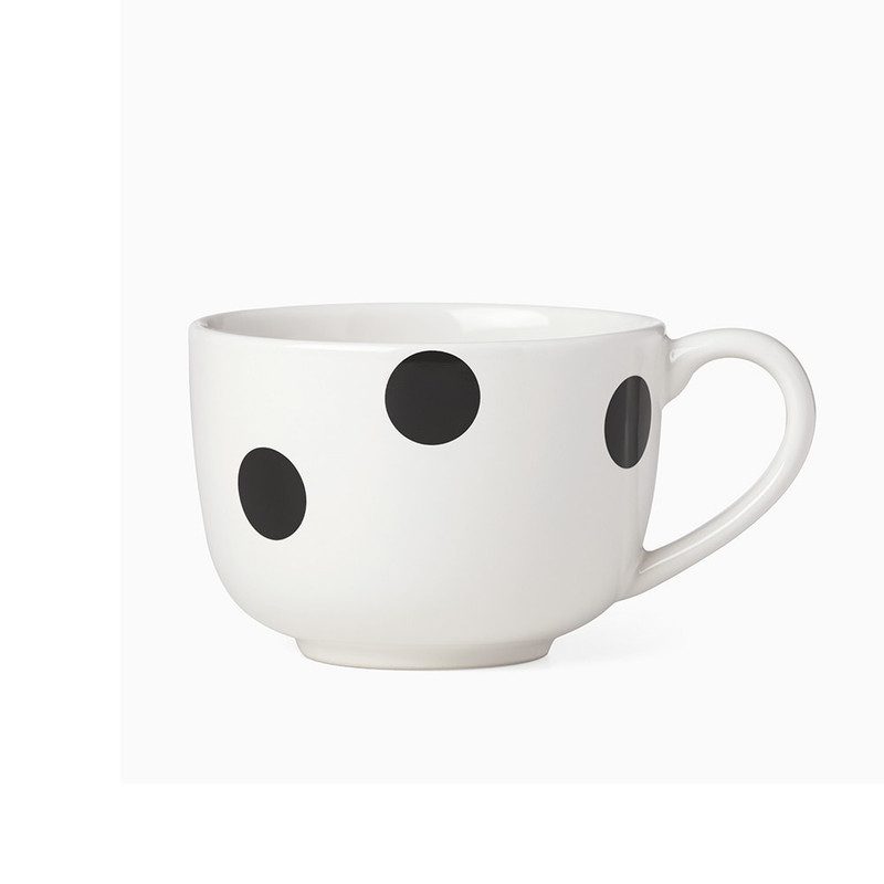 Kate Spade Deco Dot Latte Mug