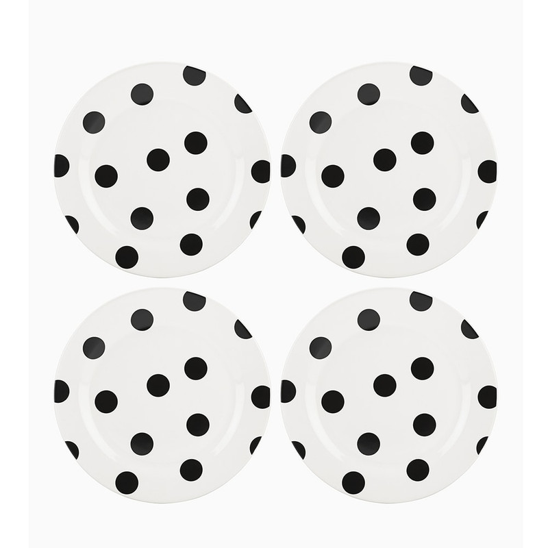 Kate Spade Deco Dot Accent Plates
