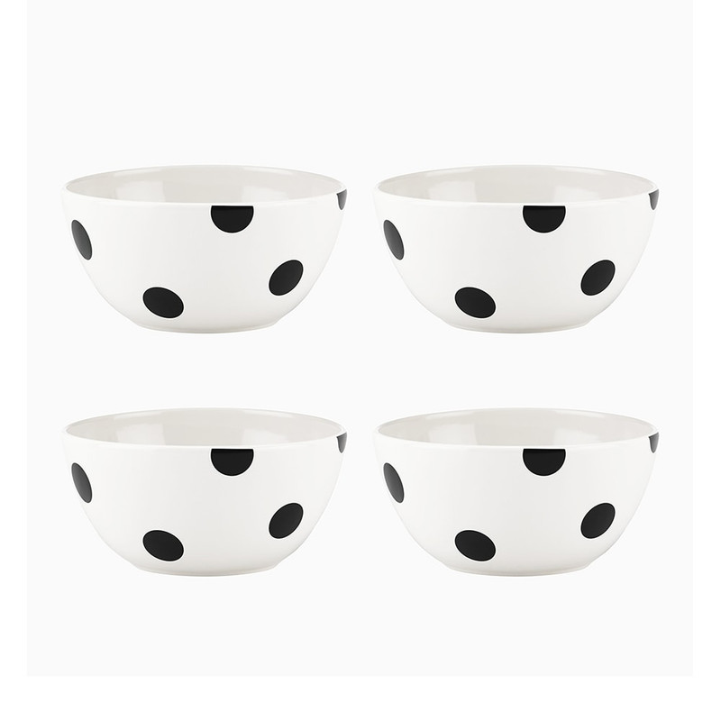 Kate Spade Deco Dot All-Purpose Bowls